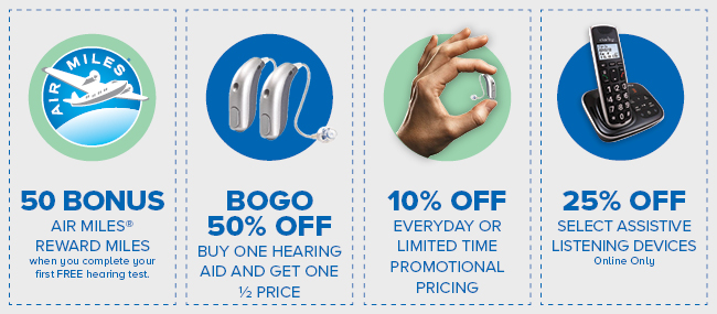 4 hearing healthcare coupon offers