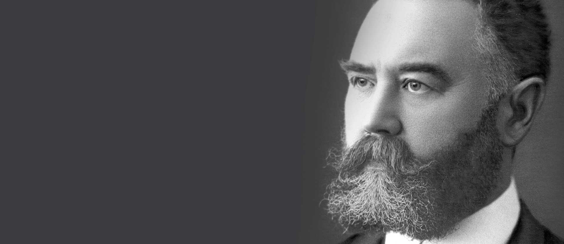 Porträt von Hans Demant