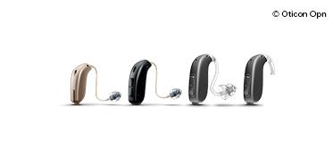 Allt-i-örat-hörapparater är hörapparater som nästan är osynliga i hörselgången. En allt-i-örat-hörapparat placeras i örat, inget av hörapparaten sitter bakom örat.