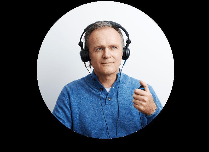 Har du en närstående som kan ha nedsatt hörsel? Hjälp din anhöriga till en bättre hörsel. Enklare hörseltest i Skåne är kostnadsfritt. Ingen remiss krävs.