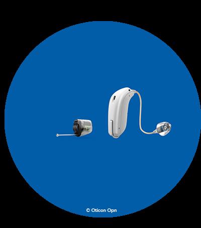 Hos Audika hittar du olika typer av hörapparater passar olika behov. Det finns typer av hörapparater som placeras i och bakom örat.