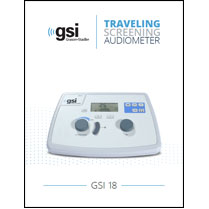 GSI 18 Screening Audiometer Brochure