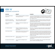 GSI 18 Facts and Benefits