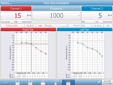 Diagnostic Audiometer Pure Tone Testing
