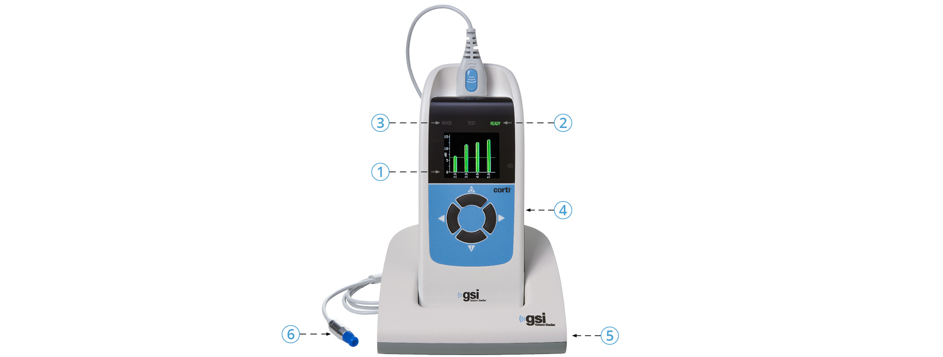 GSI Corti Product Features
