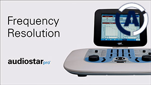AudioStar Pro Frequency Resolution