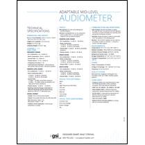 Pello Audiometer Data Sheet