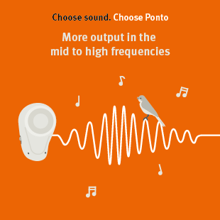 More loud and soft sounds with Ponto