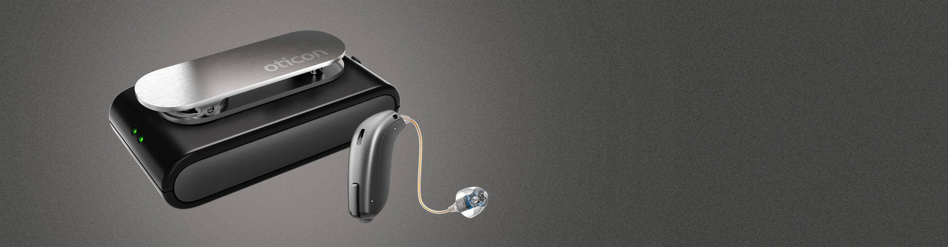 ConnectClip and Oticon hearing aid