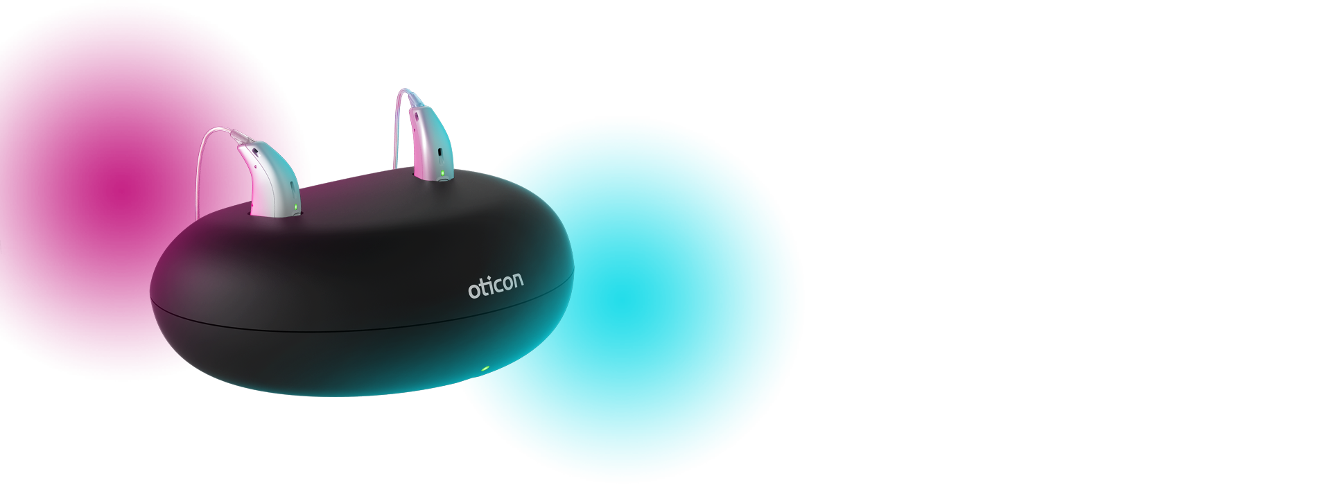 Oticon rechargeable hearing aid solution